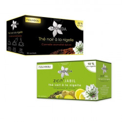 Pack Thé Duo Nigelle - Nigelle Gingembre