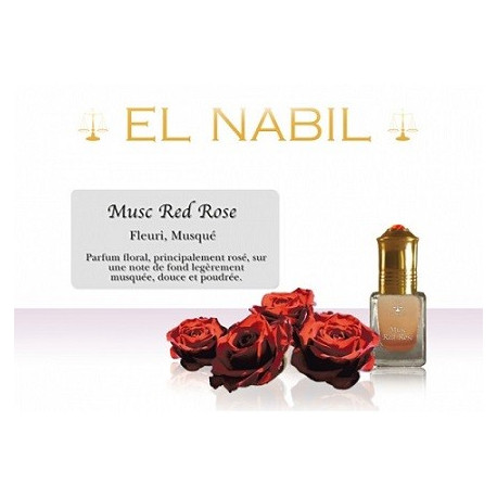 Parfum Musc Red Rose - al Nabil