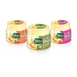 Lot de 3 Mayonnaises capillaire Vatika
