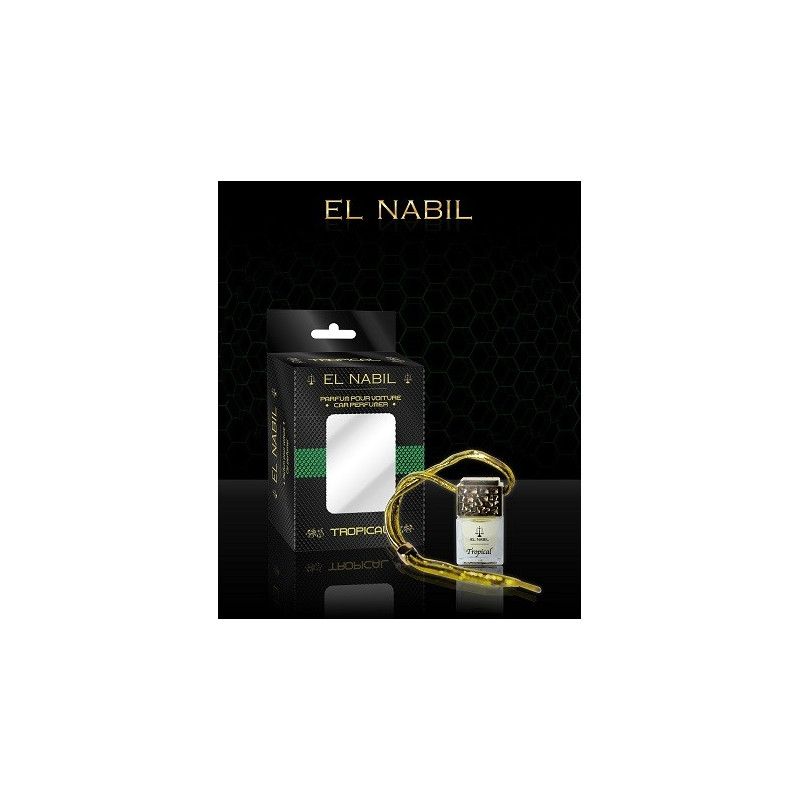 parfum voiture musc tropical el nabil. Black Bedroom Furniture Sets. Home Design Ideas