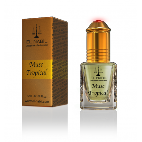 Musc Tropical - Parfum Al Nabil fruits tropicaux - Sans Alcool