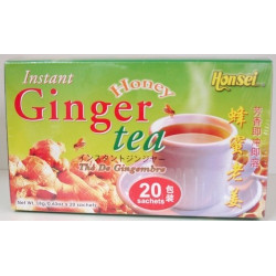 Thé au gingembre et au miel (ginger honey)