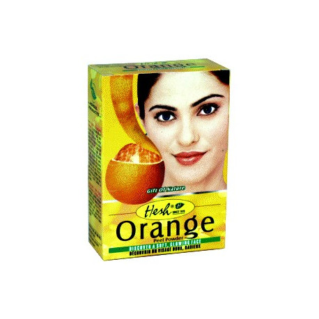 Hesh Orange - soin du visage bio à base d'écorce d'orange