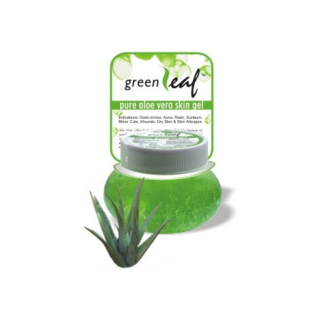 Serum de beauté visage à base d'Aloé Vera (Green Leaf Aloe Vera Gel)
