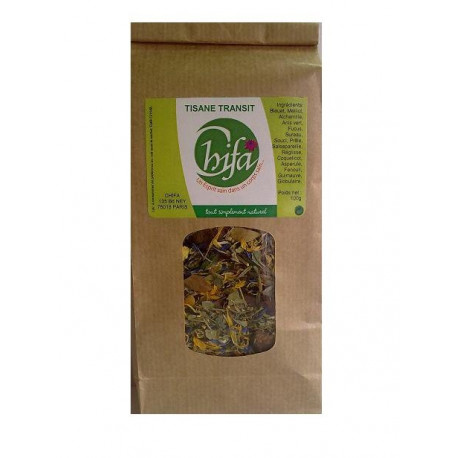 Tisane transit intestinal naturel à base de plantes